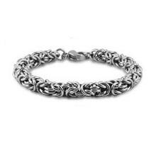 Fashion Jewelry Titanium Steel Mens Bracelets Vintage Style 316L Stainless Steel Bracelets Bangles
