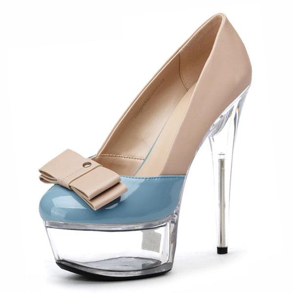 15cm high heels Platform Crystal Fashion Sexy Wedding Shoes Women Pumps(China (Mainland))
