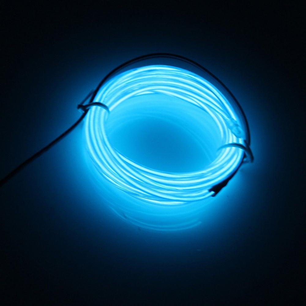 COFA Light Green Flexible EL Wire Neon Light 1M Dance +Controller(China (Mainland))