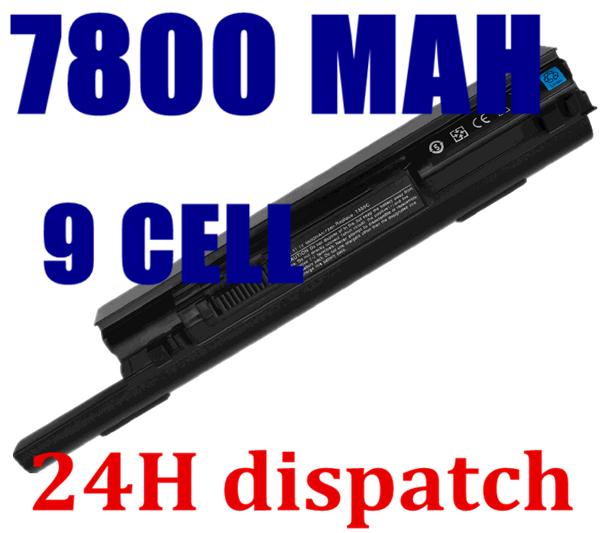7800mAH Battery For dell Studio XPS 13 1340 312-0773 P891C T555C 0P891C 0T555C 312-0773 PP17S R437C T555C T561C W004C(China (Mainland))