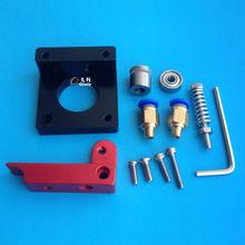 3D printer accessories MK8 extruder aluminum block DIY kit Makerbot dedicated single nozzle extrusion head aluminum block