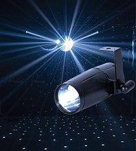 Dj лёгкие 3 W из светодиодов Pinspot фары красный, Зеленый, Синий, Белый лунный цветок лампа сцена эффект лёгкие DJ par освещение