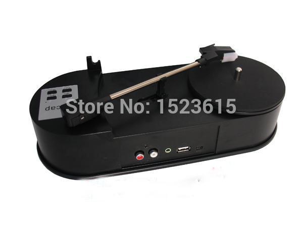 2015 latest Mini USB Turntable Vinyl LP to MP3 recorder USB digital turntable player Vinyl LP to MP3 Converter(China (Mainland))