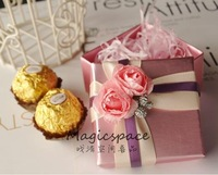 Free shipping--Wholse european romantic candy box