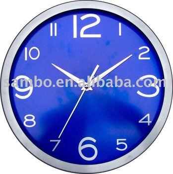 "12"" Metal Wall Clock"
