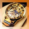 Luxury Mechanical Watch With Gold Plated & High Quality Movement (NBW0FD5533-SS3)
