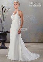 New style Custom-Made Sexy Bride Wedding Dresses Halter Wedding Dresses ALL Size