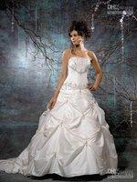 Custom-MadeNew style Sexy Bride Wedding Dresses Spaghetti Wedding Dresses All size 056