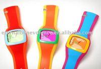 ODM watch/Silicone Watch/Uncoordinated/wrist watch+ free shipping 20pcs/lot