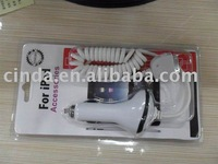 2010 Car charger for IPAD+free shipping&50pcs/lot