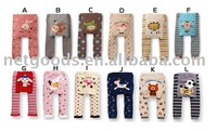 Wholesale Sweet Kids Leggings Toddler Tights Pants Baby leg warmer babys PP Pants 10pcs