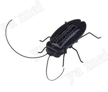 YM 10pcs freeshipping! Solar Toy, Solar cockroach,Green gift,Solar Powered Grasshopper