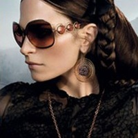 Newest design lady's sunglasses+wholesale/shiping free,high quality for ourdoor, travel, classic design