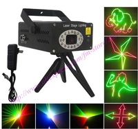 Anime mini laser stage lighting disco laser dj party light for club & party NW-S-D010 12pcs/lot+free shipping