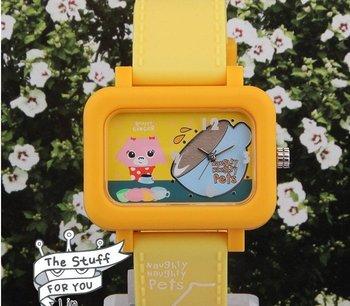 wholesale fashion watches/Free shipp Wrist Watch Naughty pets No 2 Fashion 2010 spring