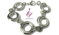 Stainless Steel Link mens fashion jewelry Pendant Bracelet Necklace earring
