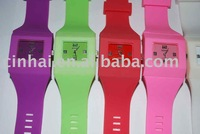 Fashion and Newly Silicone bangle with Watch in Cheapest price