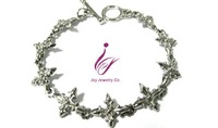 Stainless Steel Linkmens fashion jewelry Pendant Bracelet Necklace earring