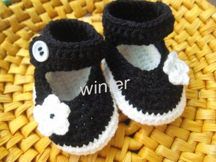 Zapatos bebé crochet patrones - Imagui