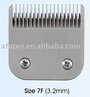 pet clipper blade,pet cutter blade 7F(3.2mm), full teeth,6pcs/lot