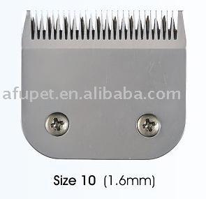 pet clipper blade,pet cutter blade 10#(1.6mm), sharp, 6pcs/lot