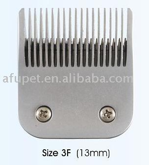 pet clipper blade, pet cutter blade, 3F(13mm), sharp, 6pcs/lot