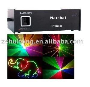 high power 1W RGB,1000mw mixed white animation laser light,laser stage light,disco light