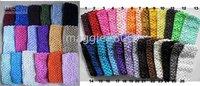 girl 2.7 INCH Crochet Headband soft Many Colors  Crochet Headband 120pcs/lot