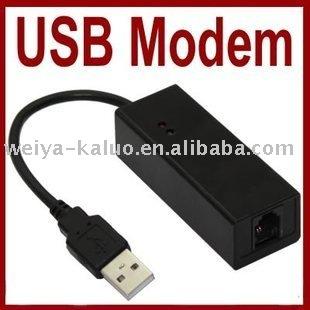 Wolesale 10pcs/lot , USB 2.0 External Fax Modem 56K V.92 V.90 Dial Up Conexant Support Win 7, Free shipping
