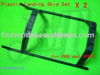 F00624-2,   2 Set F-H45050-00 Plastic Landing Skid Set For ALIGN T-REX TREX 450 V2 PRO Sport V3 + Free shipping