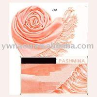 Free shipping Fashion Women's Pashmina Tassel Scarf Wrap Shawl scarves 40 Colors