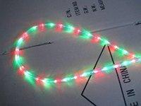 100m/roll LED 3 wires round rope light;36leds/m;13mm diameter;DC12V/24V/AC110/220V are optional;R+G+Y+B color