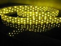 100m/roll LED 5 wires flat rope light;36leds/m;size:11mm*28mm;DC12V/24V/AC110/220V are optional;yellow color