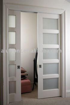 aluminum sliding pocket door