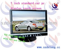 7 inch car pc monitor,headrest or standard player,Wireless Remote Control +touch screen
