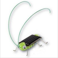 Discount Solar Toy Energy Grasshopper Crazy Cricket Kit Green gift NEWEST,Christmas gifts