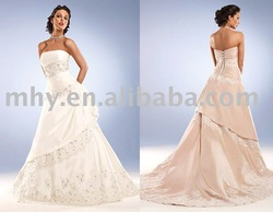 charming!!experience handmade wedding dresses,bridal wedding gowns vera304(China (Mainland))