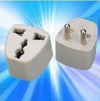 AC adapter UK US standard to EU AC Power Plug Converter Adapter