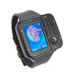 AK10 Tri-band Dual Sim Mp3 Mp4 Camera Bluetooth Mobile Phone Watch(China (Mainland))