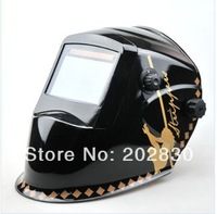 auto darkening welding helmet-TFM800202 (solar & battery support)