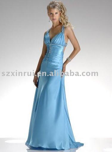 vestido de noite, vestido de noite bonita, vestido de noite, vestido de noite romântica, feito aceitar-ZBY125(China (Mainland))