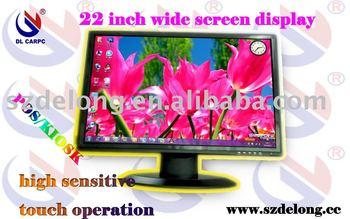 2011 fashion 22'' LCD touch monitor,POS/KIOSK display