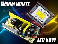 50W Warm / Cold White High Power 3000LM LED Light + AC Driver