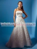 2010 Hot Sale A-line Bridal Wedding Dress Wedding Gown 1891