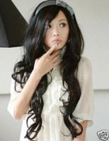 2013 new womenS  black  hairpiece/periwig/wig top quailty,FREE SHIPPING WHOLESALE PRICE