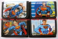 Lots of 120pcs/ SuperMan children's coin Purse wallet +Free Shipping
