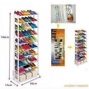 TV shopping Multi function shoe rack 10 layer