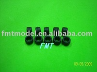 F00145,  10Pcs 4MM New Damper Rubber Compatible FOR  T-REX 450SE V2 Rc Helicopter Heli + Free shipping