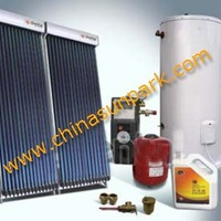 OEM  300lts with e-heater boiler backup solar water
