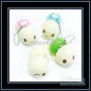 Tortoise Mobile pendant Super cute Small stuffed toys Gift first small pendant 500pcs/lot